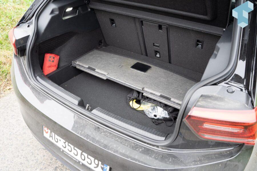 ID.3 Kofferraum mit doppeltem Boden