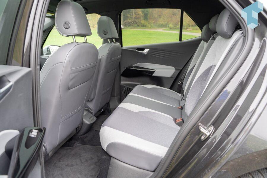 VW ID.3 Rücksitze mit viel Platz