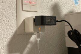 Steffen Ladeadapter USB-C 18W PD im Einsatz