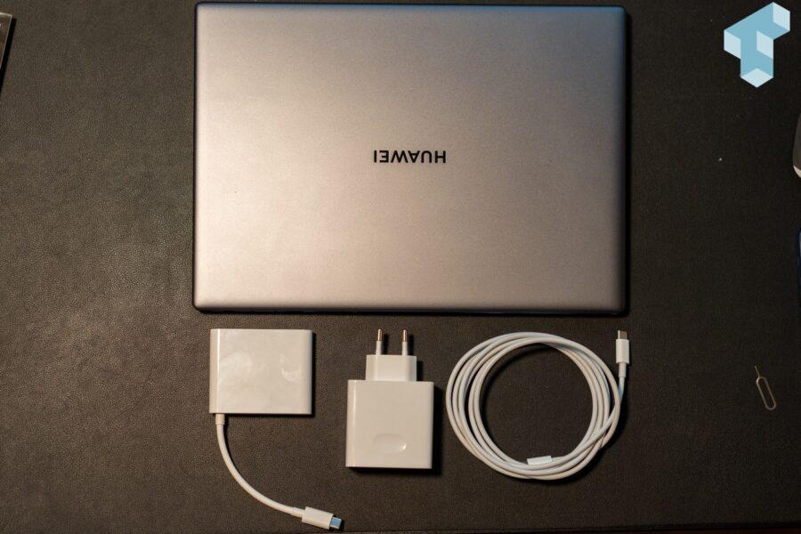 Lieferumfang des Huawei Matebook X Pro