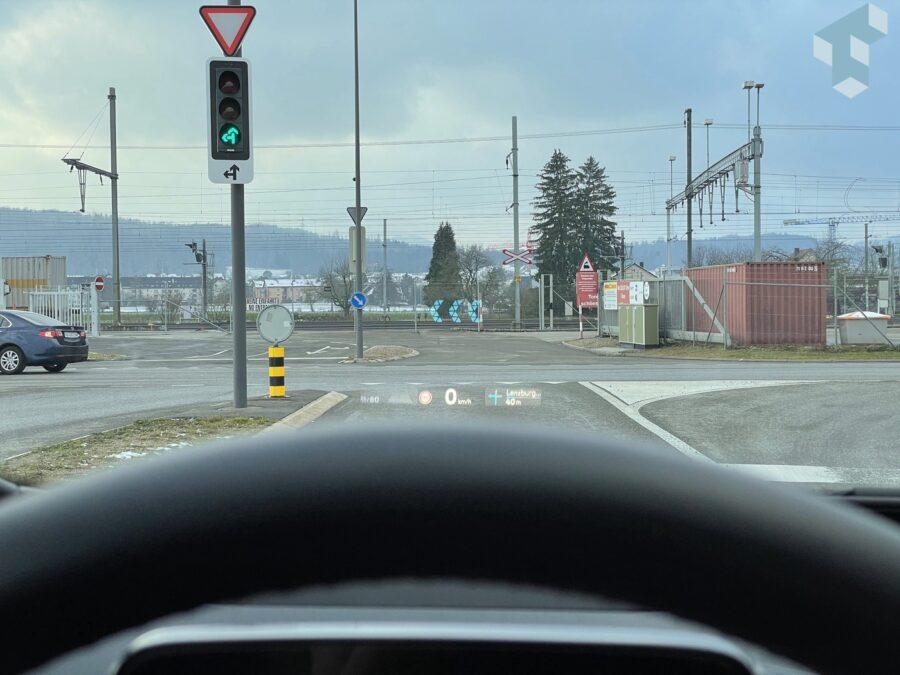Navigationshinweise direkt im Sichtfeld des Fahrers