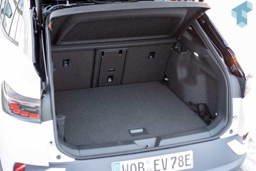 543 Liter Volumen im Kofferraum