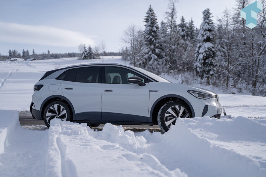 Sparsamer Verbrauch im Winter: Der VW ID.4