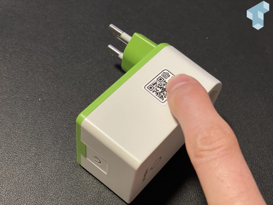 myStrom Switch mit Apple HomeKit QR Code