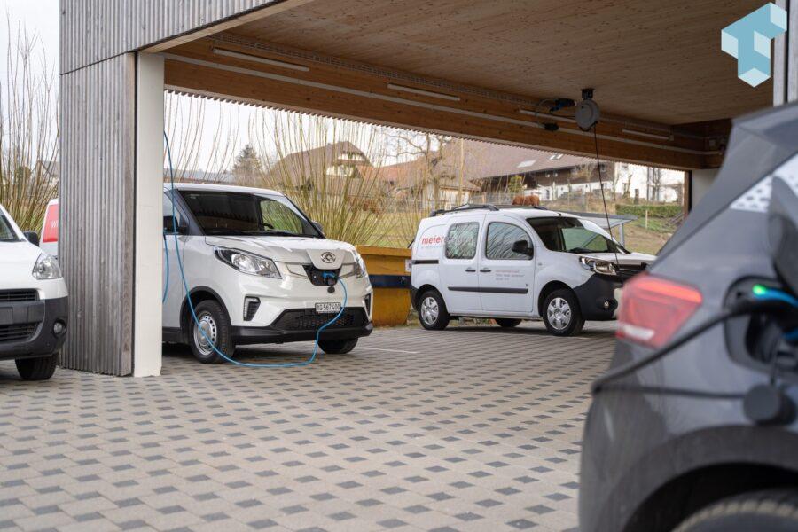 Elektroautos als Firmenfahrzeuge