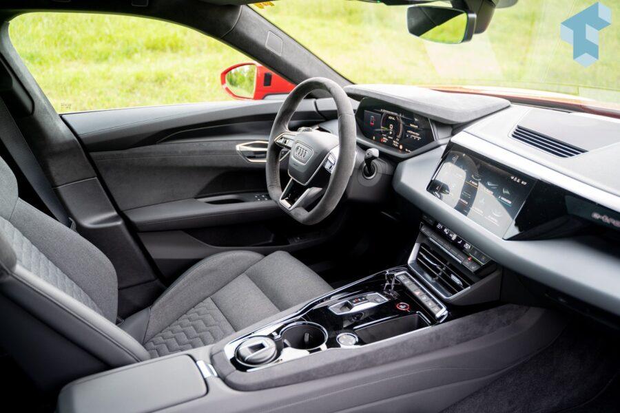 Cockpit des e-tron GT