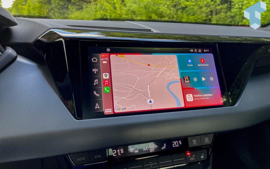 Carplay im Audi e-tron GT