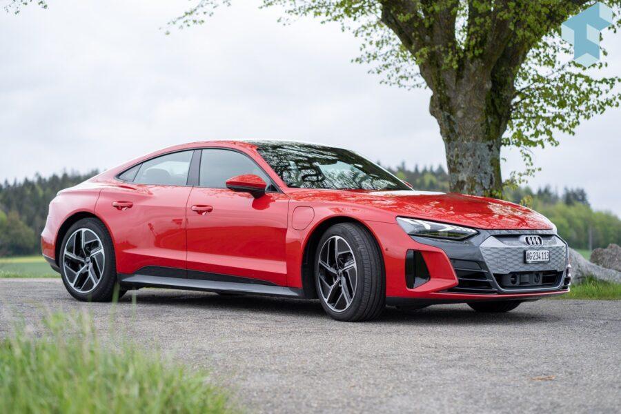 Eine Augenweide, der Audi e-tron GT