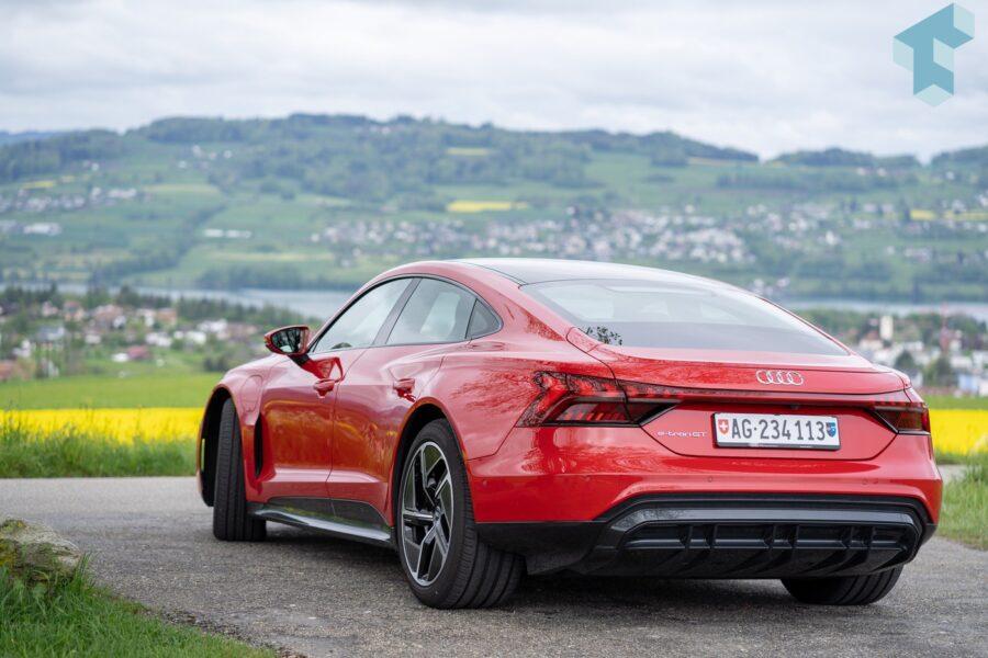 Audi e-tron GT - eine Augenweide