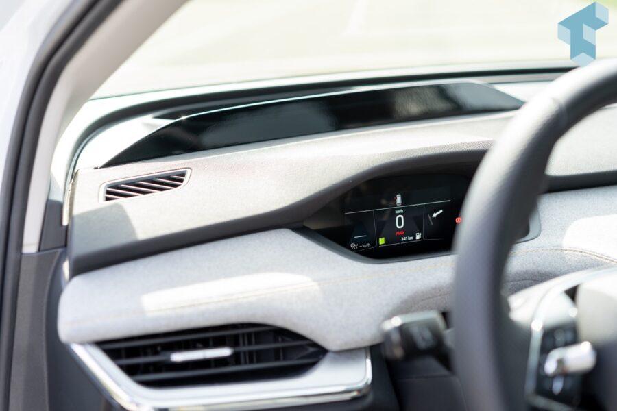 Display für den Fahrer