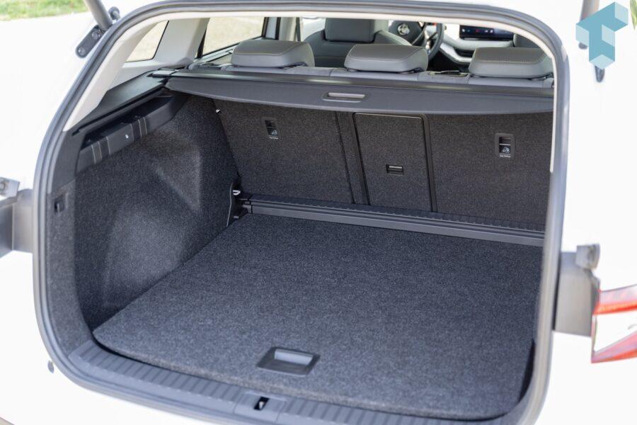 Kofferraum im Enyaq