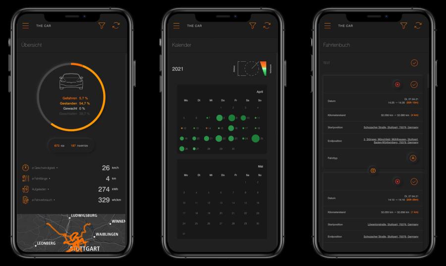j+ Pilot - App Übersicht