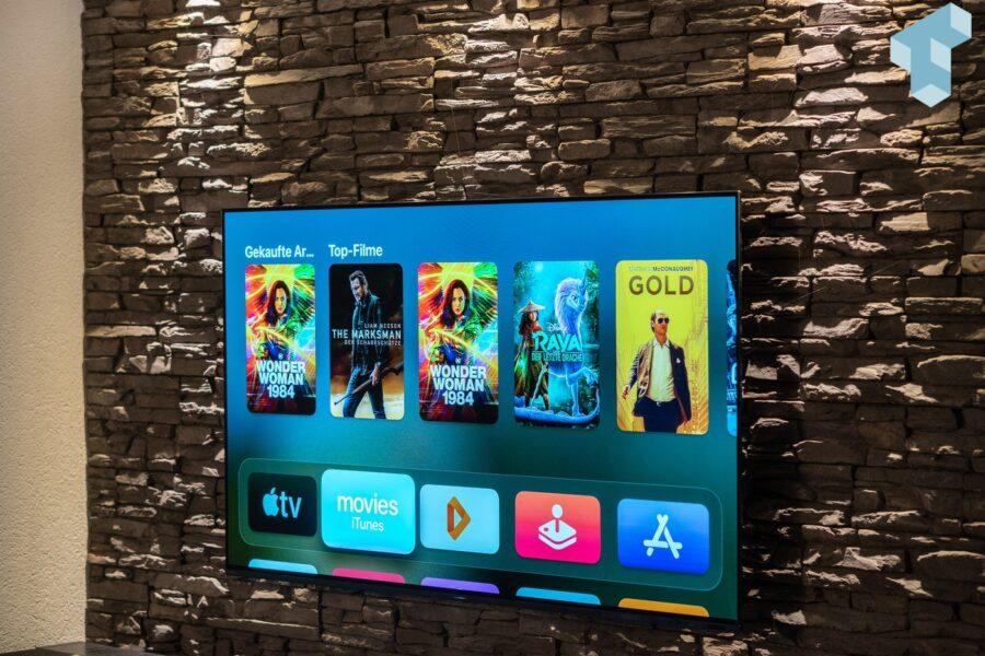 Apple TV 4K 2021 im Einsatz