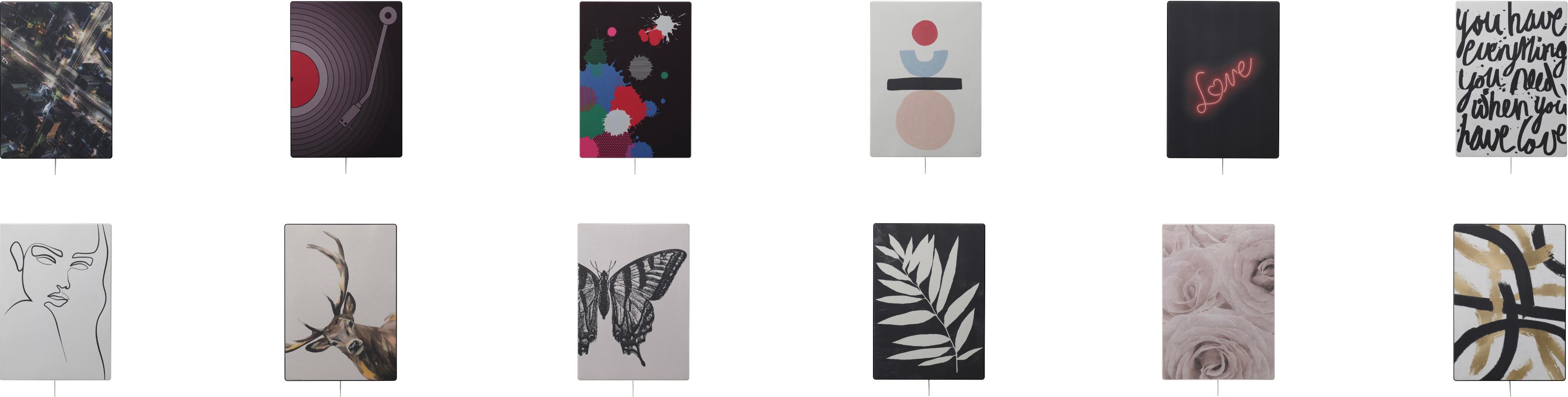 Alle Panel-Designs zum SYMFONISK Bilderrahmen