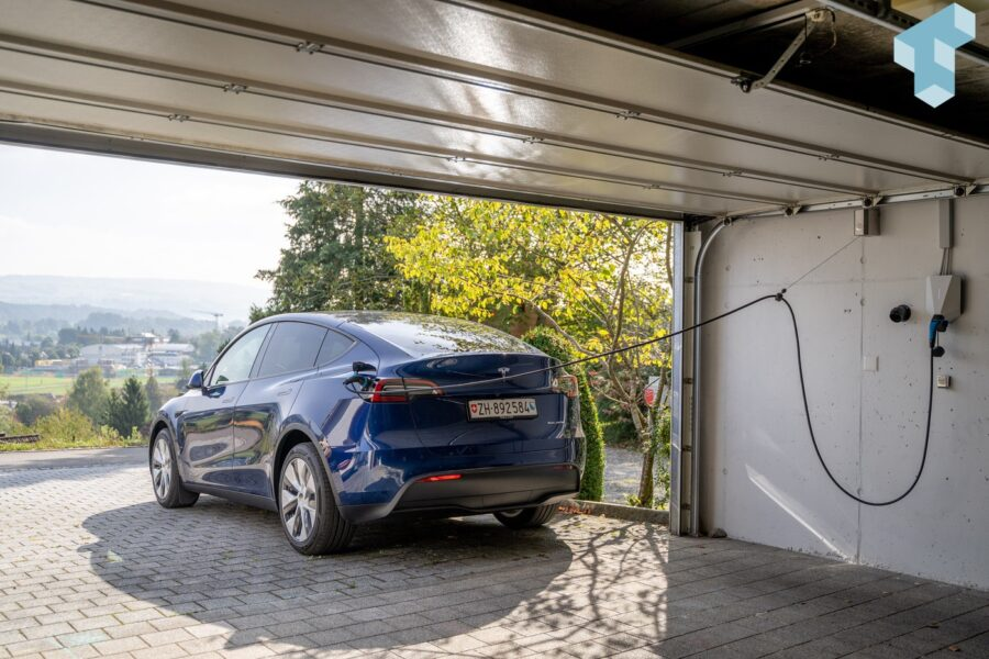 Model Y an der PV-Anlage mit Easee & Solar Manager laden